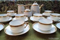 10 személyes art deco teáskészlet