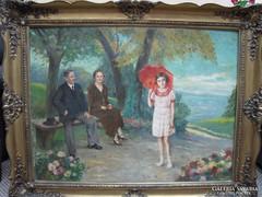 Wolf Károly festmény
