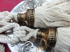 Pamut függönykikötő bojt párban