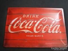 Fém kép Coca cola
