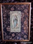 Imakönyvbe való szentkép , egyszerű keretben 20x15 cm