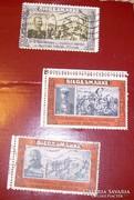 3 db militária I.v.háb. levélzáró Hindenburg