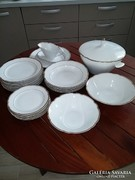 Régi porcelán étkészlet