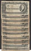 1 cservonyec 1937. (10 db), Szovjet bankjegy!
