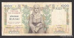 1000 drachma 1935.  Görög!  NAGYON SZÉP!