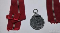 Eredeti Fritz Zimmermann kitüntetés Téli Hadjárat