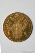Ferenc József arany 4 dukát 1915