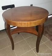 Art Deco kerek asztal 70cm