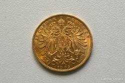 Ferenc József arany 20 koronás/corona 1905 osztrák