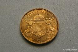 Ferenc József arany 20 korona/corona 1895
