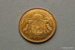 Ferenc József arany 10 korona 1904