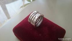 Ezüst BULGARY gyűrű (harmonika) 925