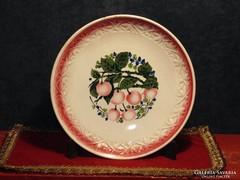 Cseresznyés gránit tányér
