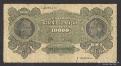 10000 marek 1922.