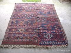 Régi, kurd kilim, szőttes szőnyeg