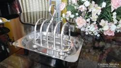 Walker & Hall által készített  toast-rack, pirítóstartó