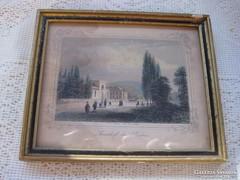 Albert Henry  Payne   Színes rézkarc 1870  Sauerhof in baden