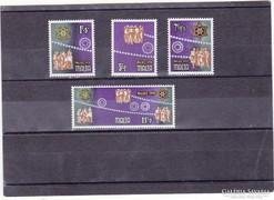 Máltai karácsonyi bélyegek 1978