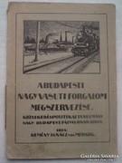 A budapesti nagyvasútforgalom megszervezése 1918.