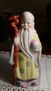 Keleti porcelán figura