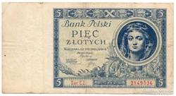 Lengyelország 5 lengyel Zloty, 1930, ritka