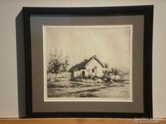 Boldizsár István (1897-1984) : Falusi házak