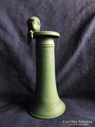Művészi szobor - váza női fejjel  31 cm