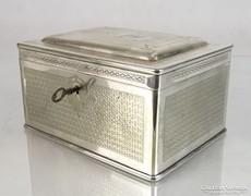 2969 Antik BERNDORF alpakka doboz szelence