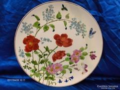 Antik Schütz Cilli majolika tányér