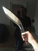 Brutális kés tőr vadászkés kukri tokkal.. 44cm!!!