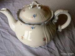 Zsolnay barokk teás kiöntő,régi pajzscímeres,hibátlan...
