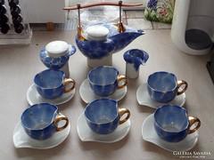 Aranyozott teás/kávés készlet eladó (Ujj Zsuzsanna)