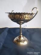 Empire stílusú asztalközép kínáló fémből készült