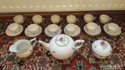 Herendi 12 személyes teás készlet