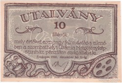 Uránia Mozgófényképszinház - 10 fillér