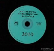Bélyegkatalógus CD 2010