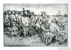 Rozanits Tibor: Kunhegyesi kubikussztrájk 1941.