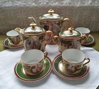 Historizáló teáskészlet négy személyre