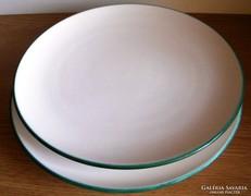 2 db Gmunder lapos tányér 24 cm átm