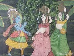 Indiai festmény