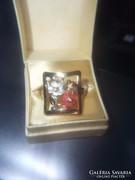 Gyönyörű 14K aranygyűrű