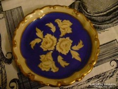 Kézzel festett német szép tányérka