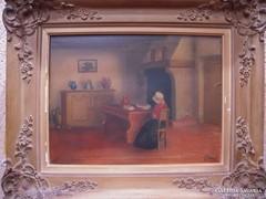 V.Herman festmény