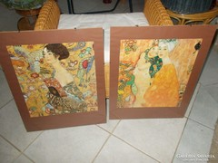 Falikép, 2 db, 40x50 cm-es