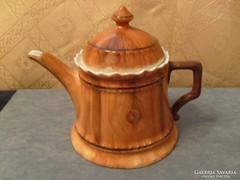Csontporcelán átlátszó tea,kávé,tejkiöntő