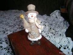 Karácsonyi apró dísz szobrocskák