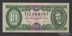 10 forint 1949.  (aUNC) !!!  HAJTATLAN!! GYÖNYÖRŰ!!!