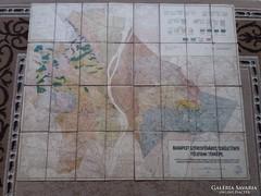Budapest Területének Földtani Térképe 1929