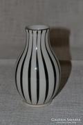 Art deco Hollóházi váza 02 ( DBZ 0080 )