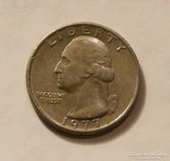 Negyed (quarter) USA dollár 1971